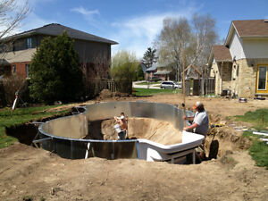 Swimming pool openings, liner instllation and renovations Kitchener / Waterloo Kitchener Area image 5