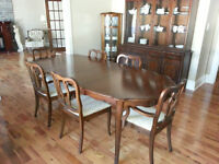 Nine piece French Provincial Dining Room Suite