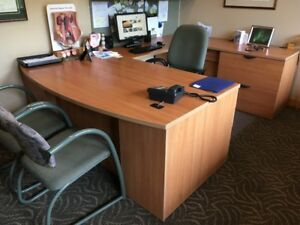 Complete professional office furniture suite - Price reduced!