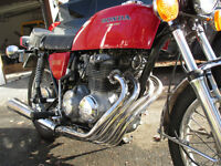 HONDA CB 400F 1975  VINTAGE(restauration + de photo sur demande)