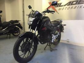 Honda CB125F GLR Manual Motorcycle, Low Miles, Good Condition