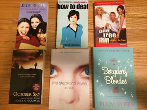 Mixed lot of used books (Judy Blume, OTH, how to deal, etc)
