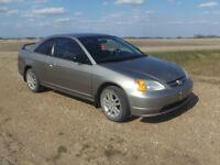 2003 Honda Civic SSE Coupe (2 door)