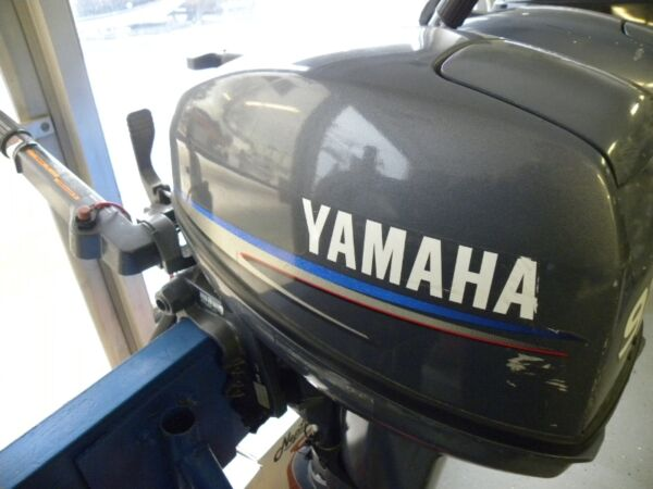 Used 2009 Evinrude 9.9HP YAMAHA 2STROKE! OUTBOARD MOTOR