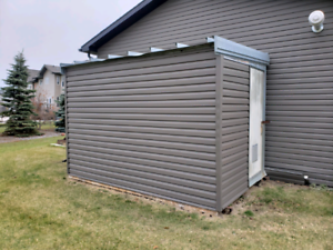 8 x 12 steel shed