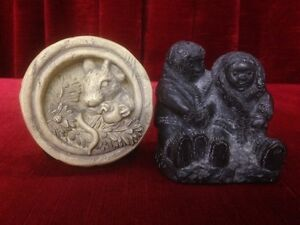 SCULPTURES BY WOLF 17 TOTAL 4 MORE SOAPSTONE $300 O.B.O Windsor Region Ontario image 5