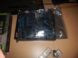 Intel cpu (i5-3470),cooler, ddr3 8gb 1866, asus H77-v LE bundle