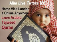 ARABIC ♦️QURAN ♦️TAJWEED ♦️HOME TUITION & ONLINE ⭐️ NATIVE ARABIC TEACHERS MALE & FEMALE