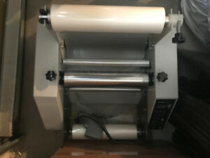 All Metal Hot/Cold Steel Roller Thermal Laminator