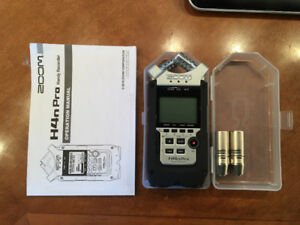Zoom H4n Pro Handy Recorder - Used Twice