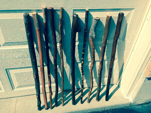 Finely handcrafted walking sticks and hiking staffs