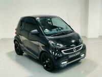 SMART FORTWO GRANDSTYLE EDITION MHD 1.0 PETROL AUTO BLACK 2014 COUPE HATCH