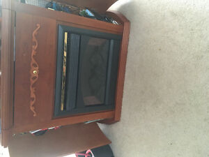 Electric fireplace/bar or cabinet