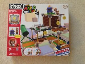 K'NEX Super Mario 3D Land Prongo Buiding Set New Unopened