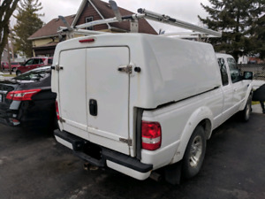 Contractor Slide-In Box with Roof Rack