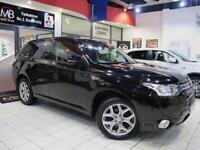 2014 MITSUBISHI OUTLANDER 2.0 PHEV GX3h 5dr Auto LEATHER