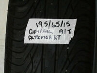 Two 195/65/15 tires