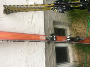 Downhill skis for sale (2 pairs)