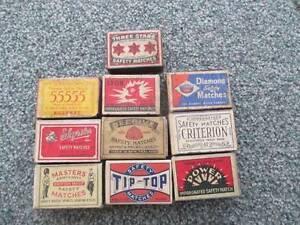old match boxes Devonport Devonport Area Preview