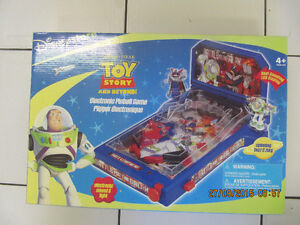 DisneyStore Pixar Toy Story Electronic Pinball Game New In Box!
