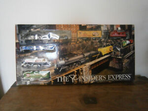 3 PC Insider's Express collector series train sets