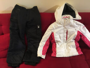 Karbon ski / winter jacket size 10 girls