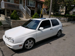 VW GOLF VR6  Mint Condition.