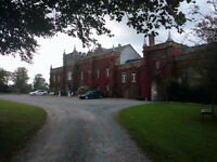 Retreat at a castle in Ireland!