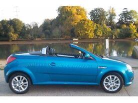 Vauxhall tigra convertible blue cabriolet