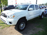 2012 Toyota Tacoma TRD SportPickup Truck with leveling kit/tires