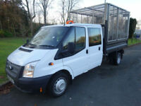 2014,Ford Transit Crew cab flat bed tipper***BUY FOR ONLY £69 PER WEEK***