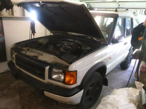 Parting out 1999 Land Rover Discovery 2
