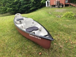 Canoe Pelican 14.5 Explorer 3 yrs old