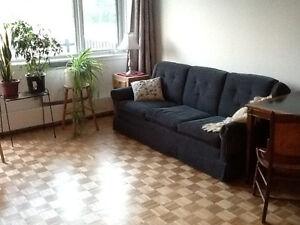 Très grande chambre, ensoleillée, tranquille, vue, Outremont