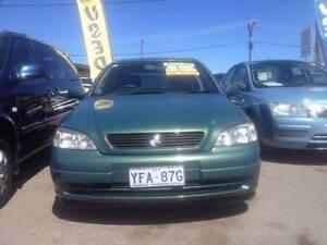 2001 Holden Astra Hatchback Mitchell Gungahlin Area Preview