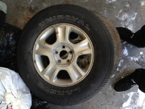 2002 ford ecscape tires