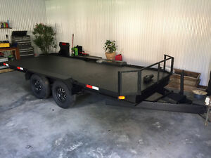 Remorque Trailer Flat Bed