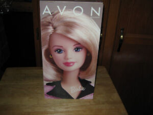 collector avon special editon barbie doll. mint condition.