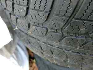 Winter tires in rims vw Mercedes Cambridge Kitchener Area image 1