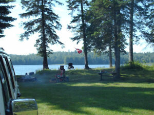land Quiet Peaceful Private Waterfront LOT-terrain