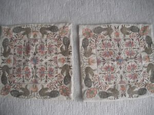 2 Pottery Barn Embroidered Pillow Covers London Ontario image 1