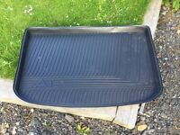 Genuine Audi A1 boot fitted tray