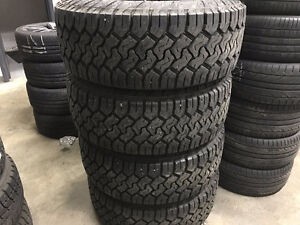 """Like NEW Toyo Open Country CT 35"""" winter tires & rims"""