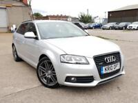 AUDI A3 2.0 TDI BLACK EDITION QUATTRO 5DR 4X4,HPI CLEAR,1 OWNER.CAMBELT DONE,NAV
