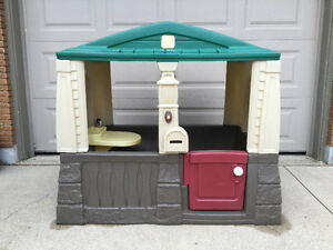 Step 2, outdoor plastic playhouse