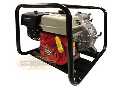 3 Gas Water Pump Full Trash Pump 6.5 Hp 3 Inch Inlet Outlet Npt New Pool Marine
