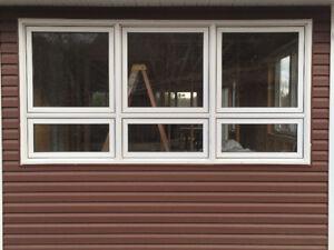 Large Low E Argon Windows