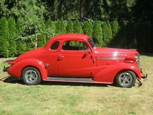 1938 Chevrolet Businessmans 5 Window Coupe