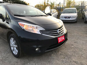 2014 Nissan Versa Note SL/Accident Free/One Owner/Low Km/Navigat