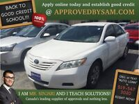"Super Galaxy White Camry  - TEXT ""AUTO LOAN"" TO 519 567 3020"